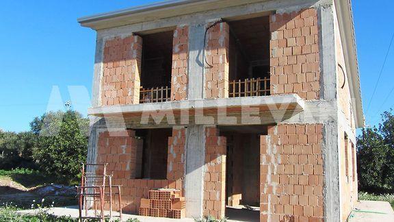 villa indipendente in costruzione Pozzallo