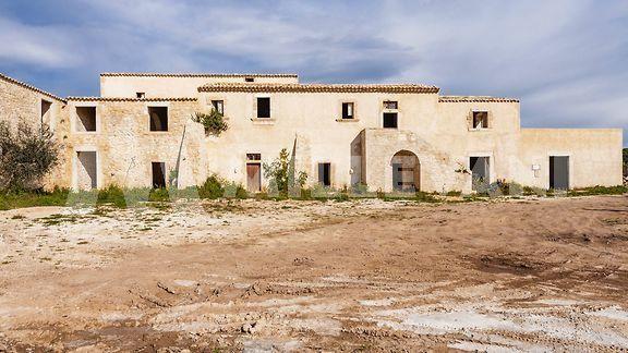 Caseggiato rurale a Sampieri, Scicli